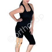 Elastic Knee Support with Hinge